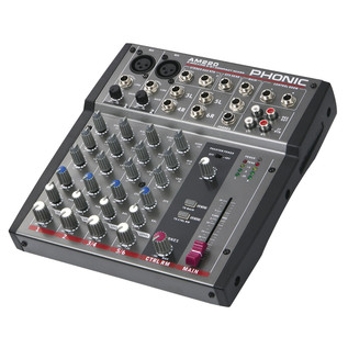 Phonic AM220 Analog Mixer - Side