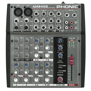 Phonic AM240D Analog Mixer With DFX