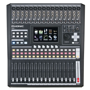 Phonic ISI6 Digital Mixer With Colour Touch Screen and VGA output