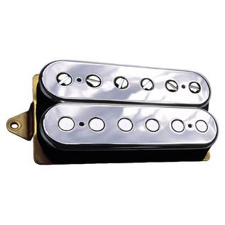DiMarzio DP153 FRED F Spaced Humbucker Guitar Pickup, Chrome