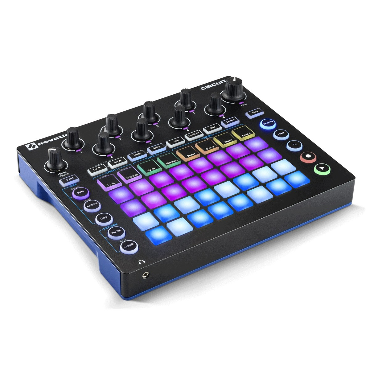 novation circuit groovebox at. Black Bedroom Furniture Sets. Home Design Ideas