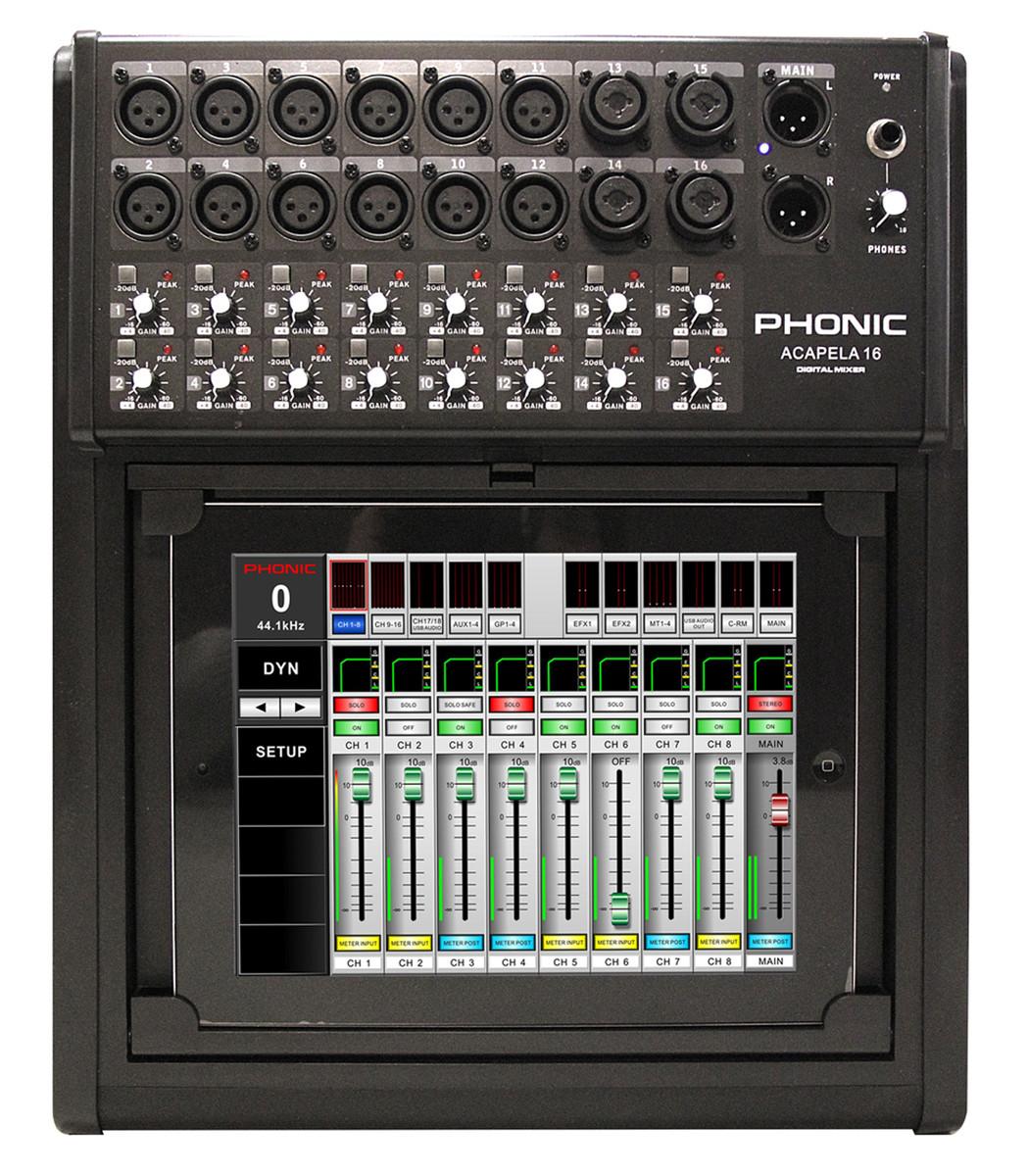 phonic acapela 16 digital live sound mixer at. Black Bedroom Furniture Sets. Home Design Ideas