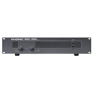 Phonic MAX 1000 Powered Amplifier
