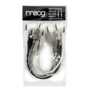Moog 6'' Patch Cable Set of 5