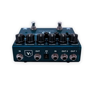 Visual Sound V3 H2O Premium Chorus & Echo Guitar Pedal