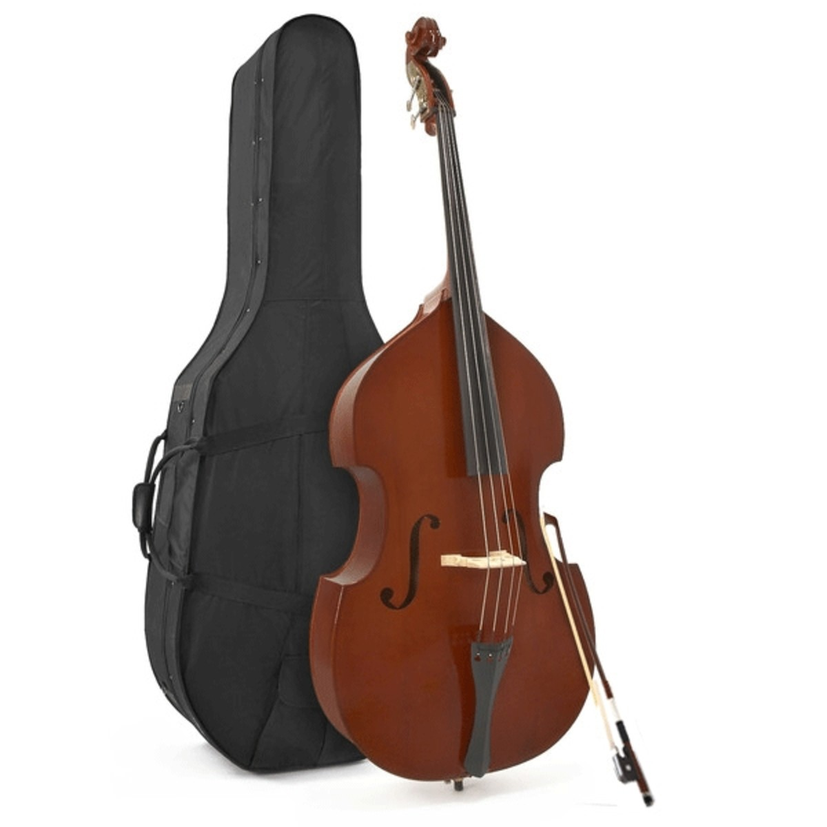 student 4 4 full size double bass by gear4music at. Black Bedroom Furniture Sets. Home Design Ideas