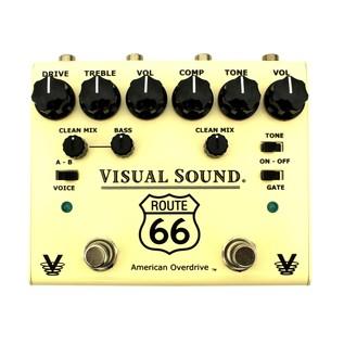 Visual Sound VS-V3RT66 V3 Route 66 Overdrive Pedal
