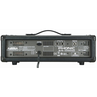 Phonic Powerpod410 Powered Mixer - Rear View