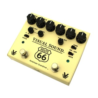 Visual Sound VS-V3RT66 V3 Route 66 Overdrive Pedal