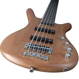 Warwick RockBass Corvette Basic 4-String Bass, Short, Natural Satin