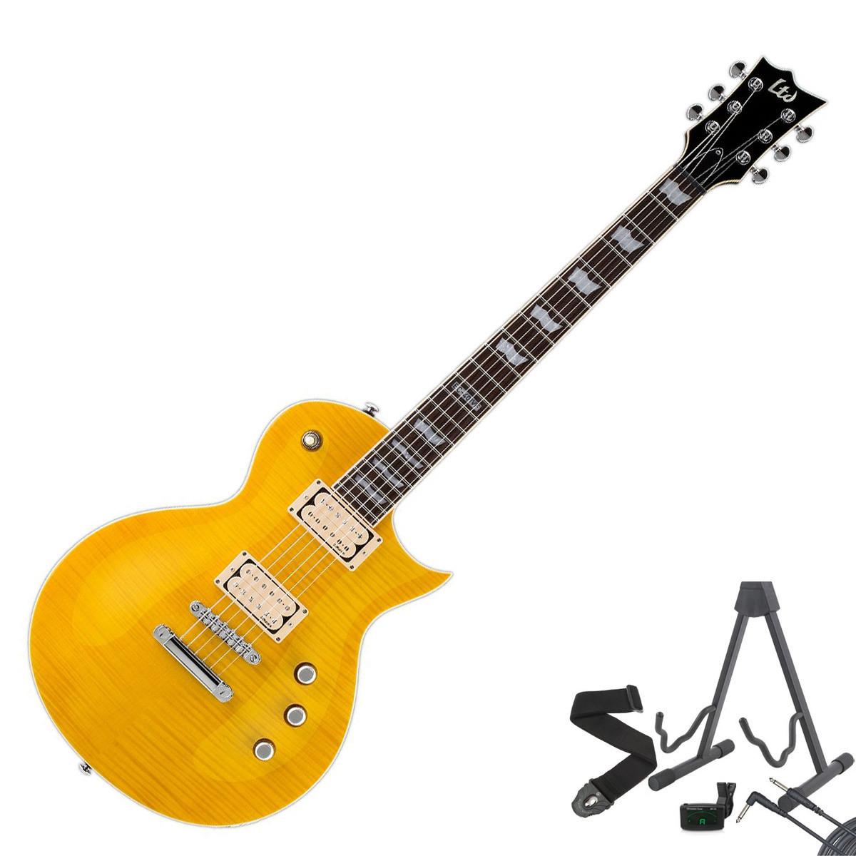 platen esp ltd ec 401vf elektrisk gitar lemon drop gratis gaver hos. Black Bedroom Furniture Sets. Home Design Ideas