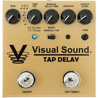 Visual Sound V3 SD Tap Delay Pedal