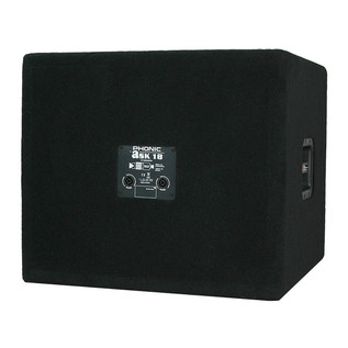 Phonic aSK18SB Subwoofer - Rear View