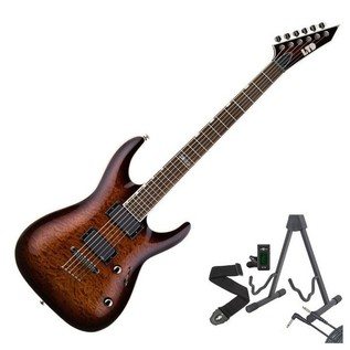 ESP LTD MH-350NT Guitar, Dark Brown Sunburst + Free Gifts