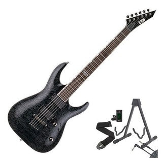 ESP LTD MH-350NT Guitar, See Thru Black + Free Gifts