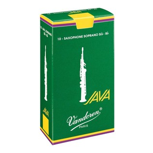 Vandoren Java Soprano Saxophone Reeds Strength 3.0 (10 Pack)