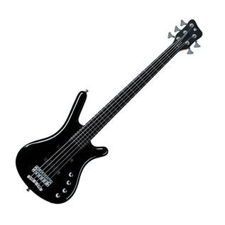 Warwick Rockbass Corvette Basic 5-String Bass, Medium, Black