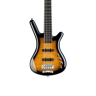Warwick Rockbass Corvette Classic 5-String Bass, Almond Sunburst