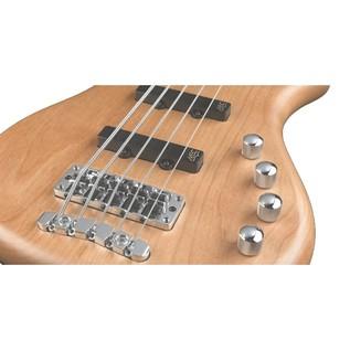 Warwick Rockbass Corvette Basic 5-String Bass, Medium, Natural Satin