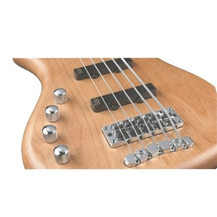 Warwick Rockbass Corvette Left Handed 5 Bass, Medium, Natural Satin
