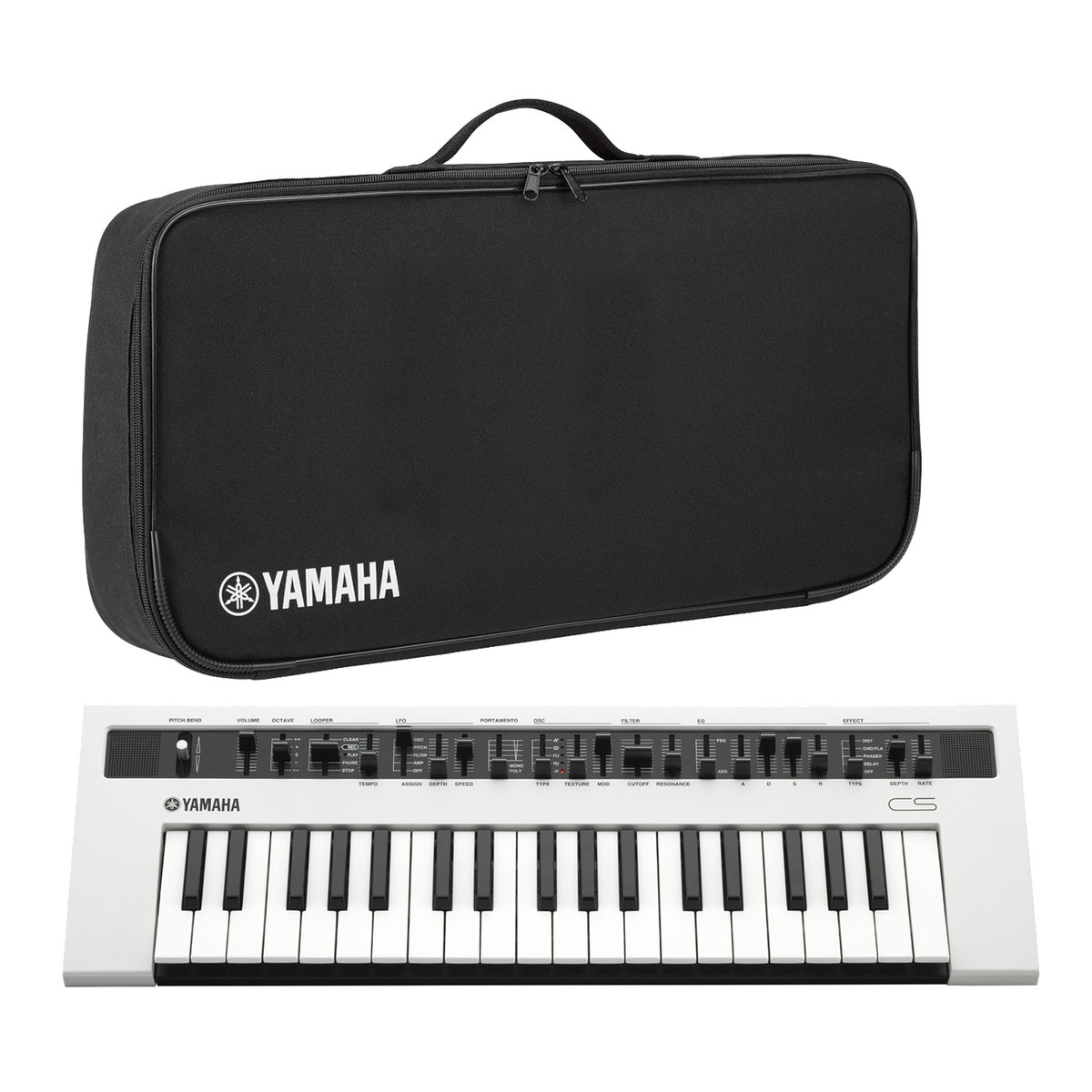 Yamaha reface cs synth tiseur avec housse officielle for Housse clavier yamaha