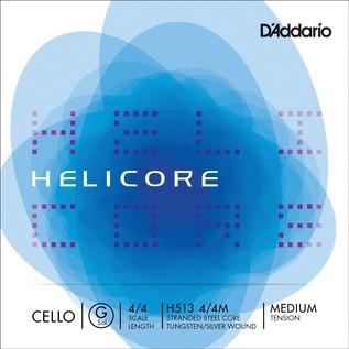 D'Addario Helicore Cello G String 4/4 Medium Tension