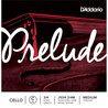 D'Addario Prelude Cello C string 3/4 Scale Medium Tension