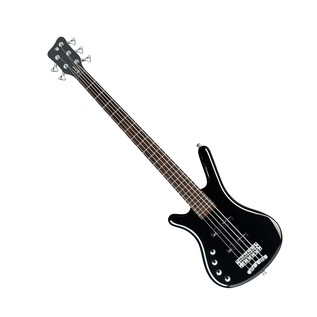 Warwick Rockbass Corvette Left Handed 5String Bass, Black High Polish