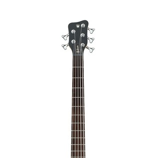 Warwick Rockbass Corvette Left Handed 5-String Bass, Medium, Black HP