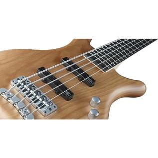 Warwick Rockbass Corvette Basic 5-String Bass, Natural Satin