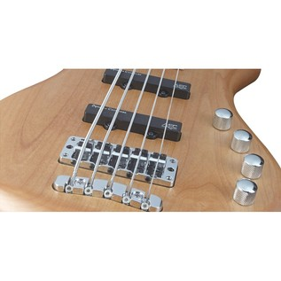 Warwick Rockbass Corvette Basic 5-String Bass, Medium, Natural Satin
