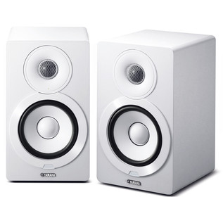 Yamaha NXN500 Active Hi-Fi Speakers with MusicCast, White