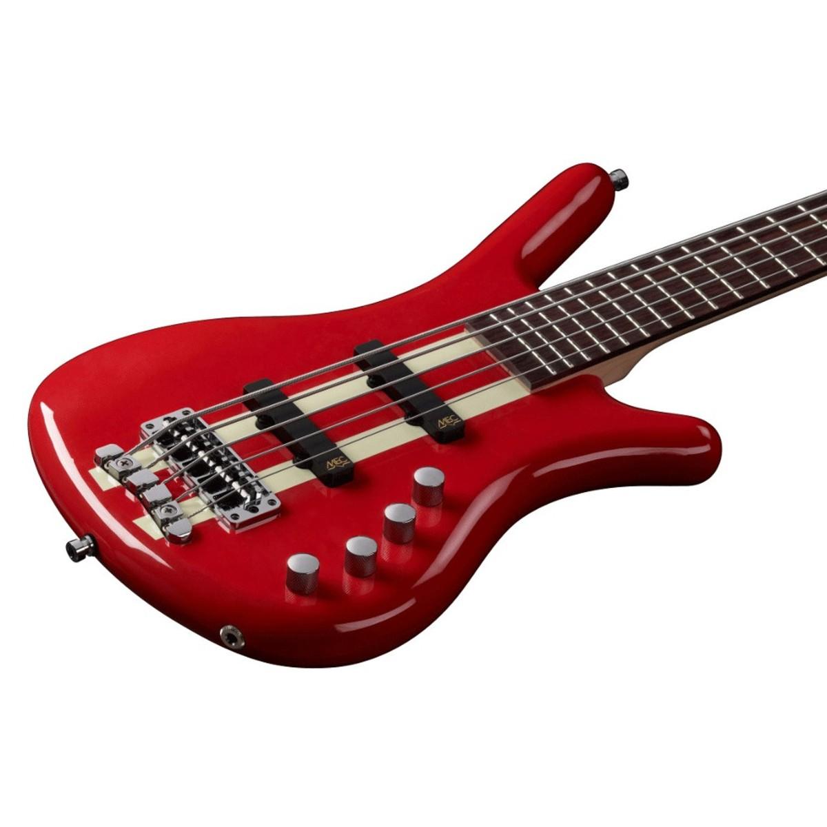 Warwick Rockbass Corvette Basic 5 String Bass Racing Red