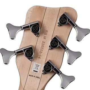 Warwick Rockbass Corvette Basic 5-String Bass, Racing Silver