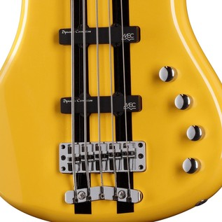 Warwick Rockbass Corvette Basic 5-String Bass, Racing Yellow