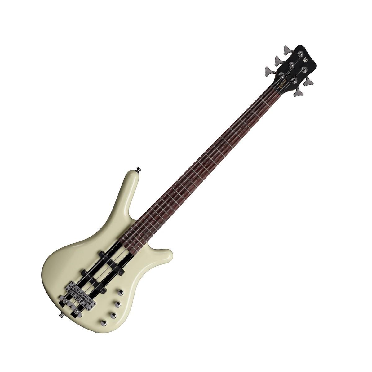 Warwick Rockbass Corvette Basic 5-String Bass, Racing White at ...
