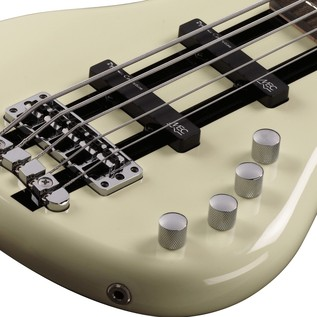 Warwick Rockbass Corvette Basic 5-String Bass, Racing White