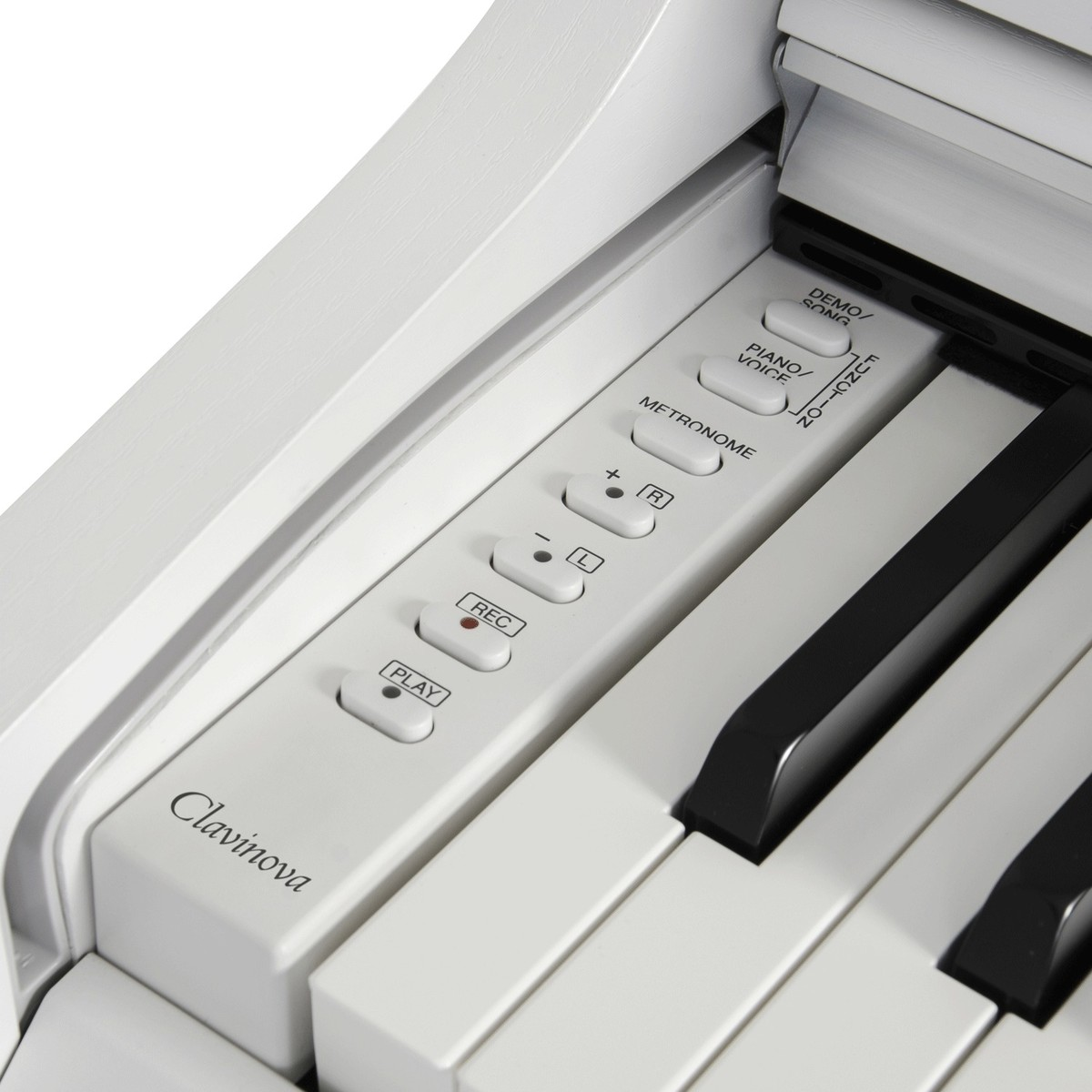 yamaha clavinova clp525 digital piano matte white at. Black Bedroom Furniture Sets. Home Design Ideas