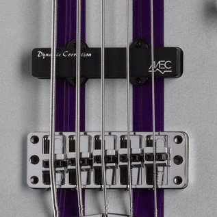 Warwick Rockbass Corvette Basic 5-String Bass, Racing Silver
