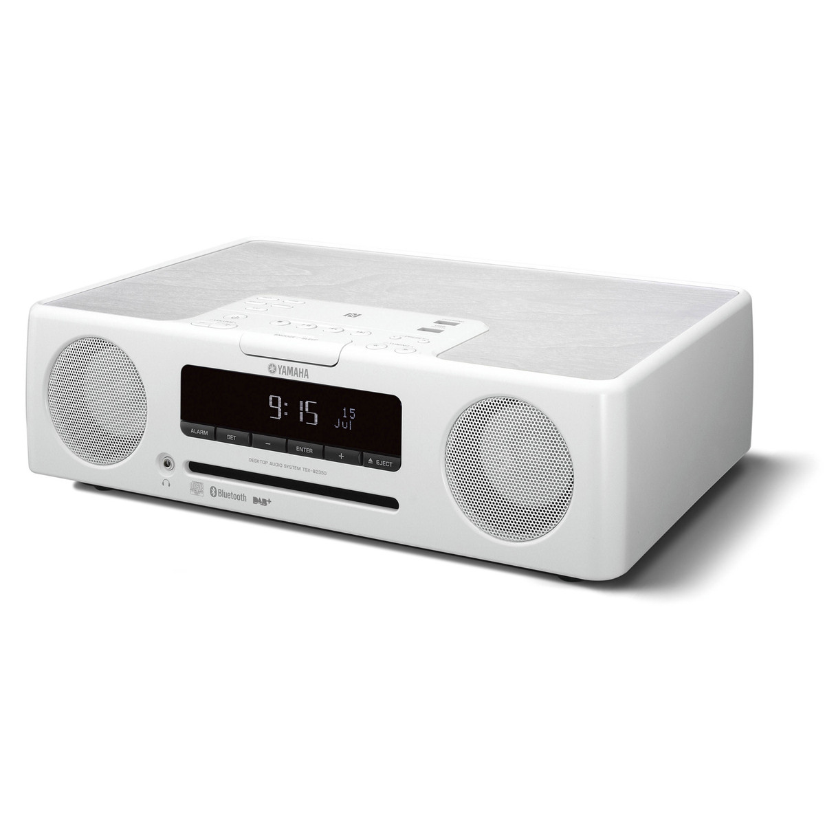 yamaha tsxb235d desktop micro hi fi system with bluetooth white at. Black Bedroom Furniture Sets. Home Design Ideas