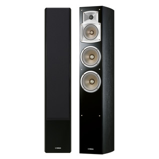 Yamaha NSF350 Floor Standing Speakers, Black