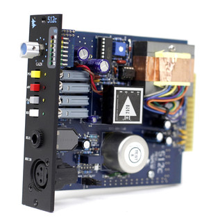 API 512C Mic/Line Preamplifier - Side/Internal View