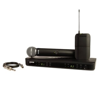 Shure BLX1288/SM58 Dual Wireless System with SM58 and WA302