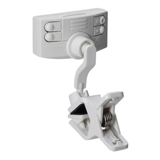 Korg PitchCrow-G Clip-On Tuner, White