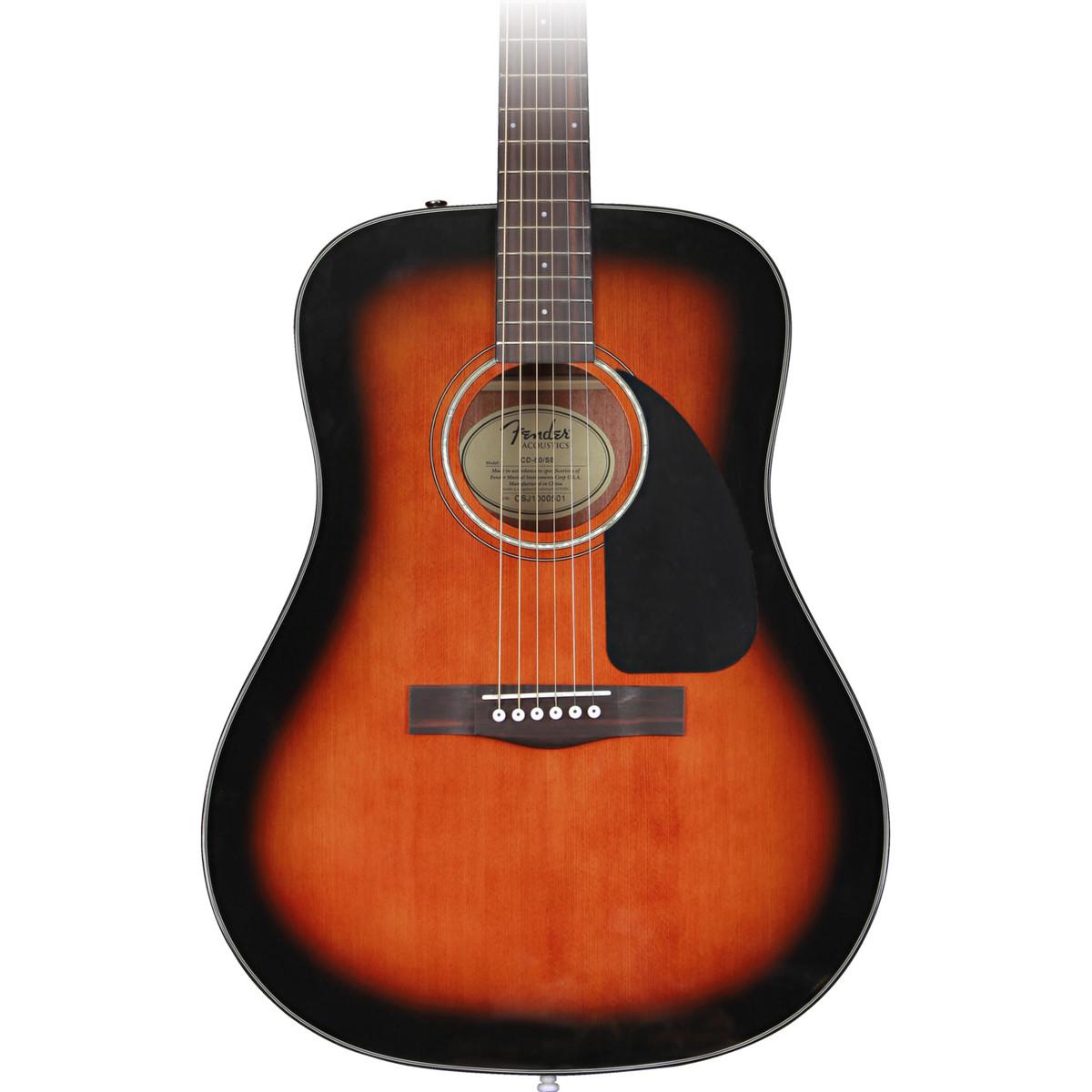 Guitar and Bass Fender CD  Acoustic Sunburst CTI