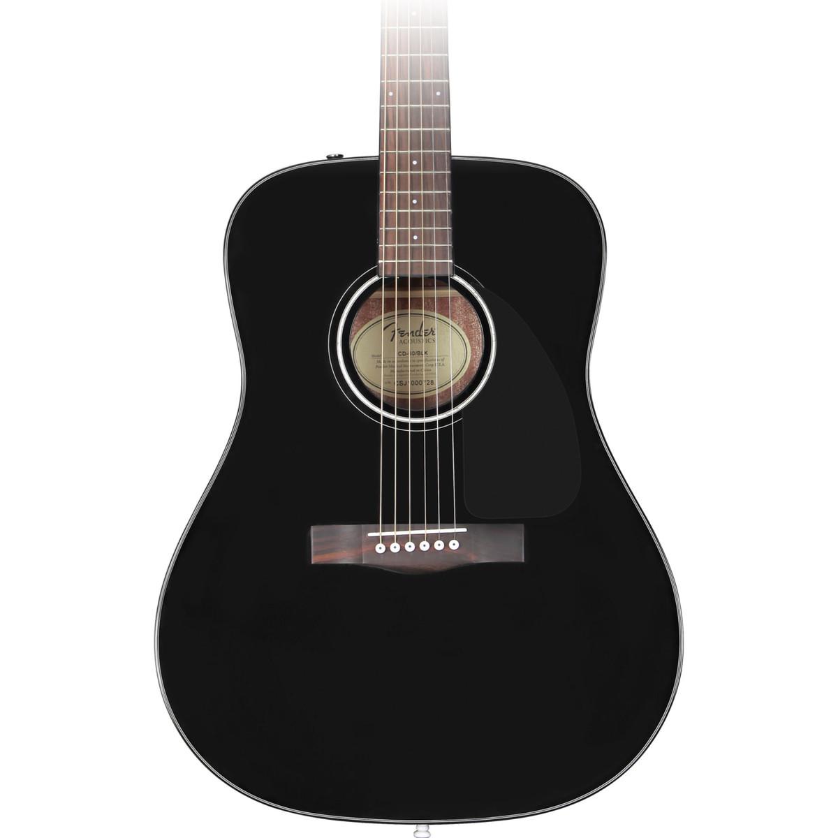 Guitar and Bass Fender CD  Acoustic Black CDK