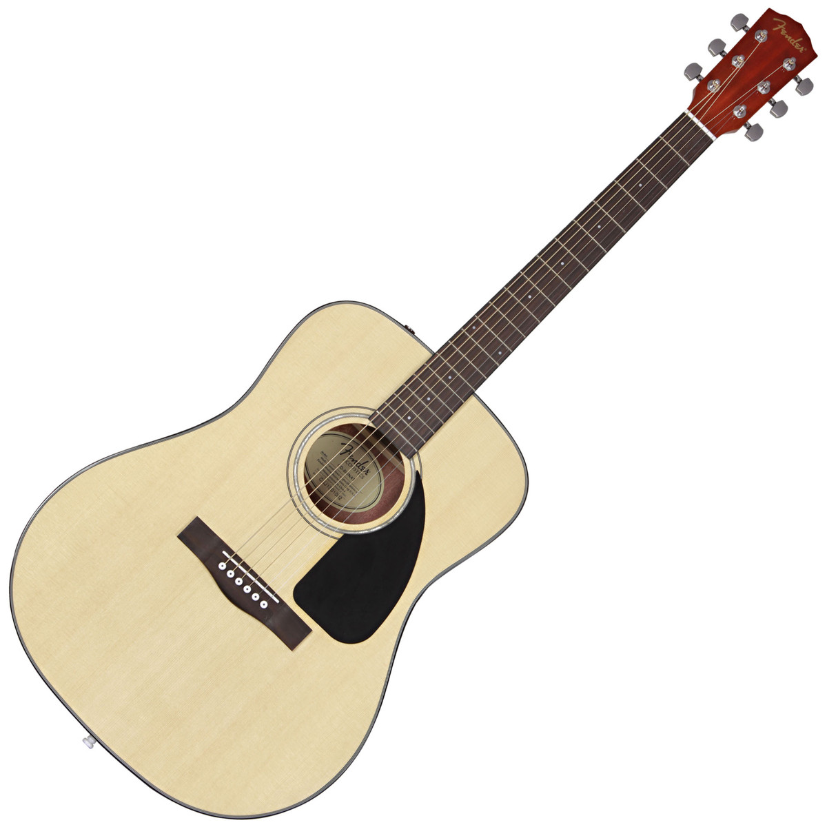 Guitar and Bass Fender CD  Acoustic Natural CTH
