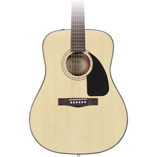 Fender CD-60 Acoustic Guitar, Natural