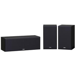 Yamaha NSP350 Surround Sound Speaker Package, Black