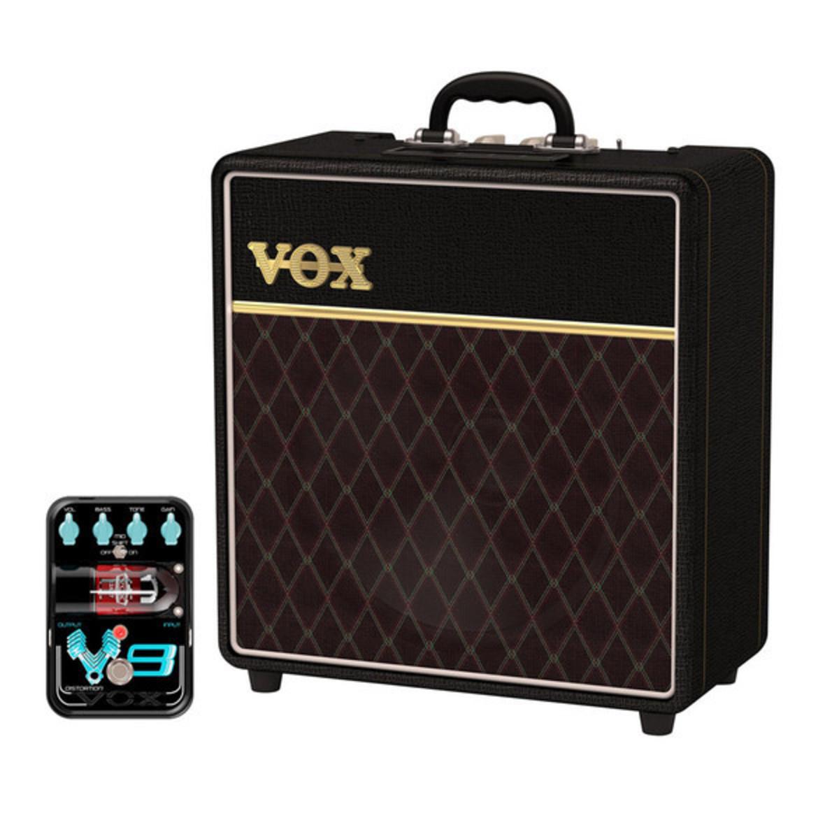 vox ac4c1 12 custom series guitar amplifier w free distortion pedal at. Black Bedroom Furniture Sets. Home Design Ideas
